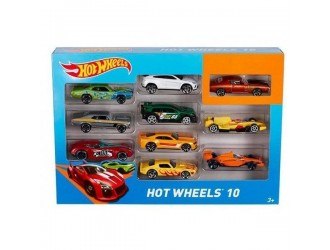 54886 Hot Wheels Set 10 masini de baza (as).