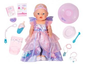 826225 Papusa bebelus BABY BORN seria Imbratisari Blande 43 cm cu accesorii –Printesa Zana.