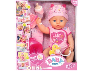 824368 Papusa bebelus BABY BORN seria Imbratisari Blande 43 cm – Bebe Fermecator cu accesorii