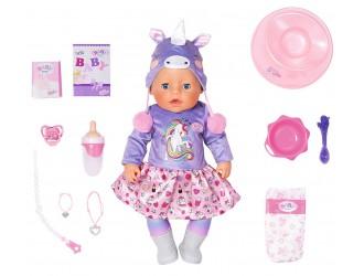 828847   Кукла BABY BORN серии нежные объятия - Милый Единорог