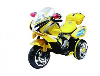 MB358D Motocicleta pe acumulator galbena 6V