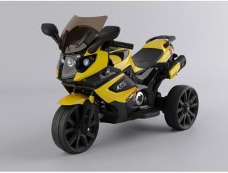 MB168A Motocicleta pe acumulator galbena