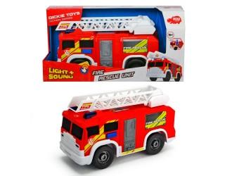 "3306000Dickie auto ""Pompieri"" sun & lum 30 cm"