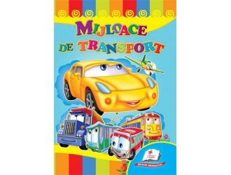 """72926 Carte carton """"Mijloace de transport"""""""