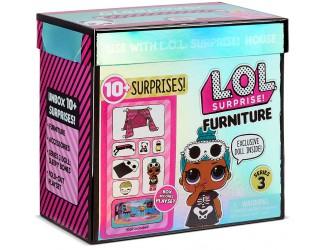 570035 Set mobila L.O.L. Surprise! Furniture Seria 3 Dormitorul lui Sleepy Bones