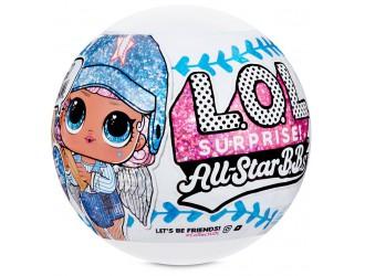 570363 Set papusa glitter L.O.L. SURPRISE! Seria All-Star B.B.s Echipa Sportiva