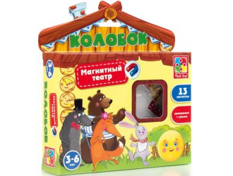 "VT3206-09  Joc teatru magnetic ""Gogoasa"" Vladi Toys"