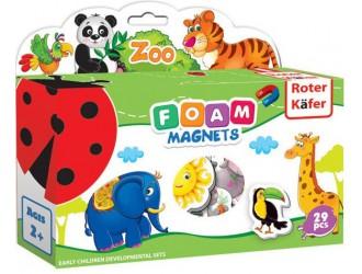 RK2101-02 Set figuri magnetice  Zoo Roter Kafer