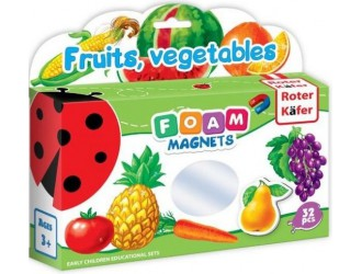 RK2101-04 Set figuri magnetice Fructe si Legume Roter Kafer