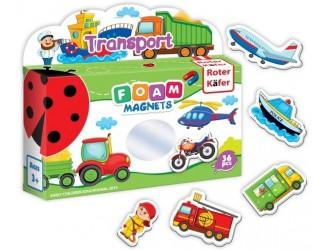 RK3030-02 Set figuri magnetice Transport Roter Kafer