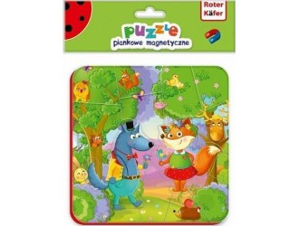 RK5010-03 Puzzle magnetic Animale din padure Roter Kafer Vladi Toys