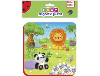 RK5010-04 Puzzle magnetic ZOO Roter Kafer