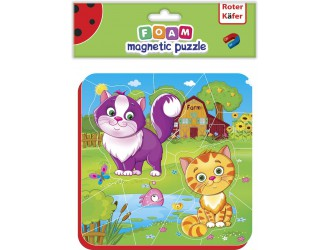RK5010-05 Puzzle magnetic Pisicute Roter Kafer