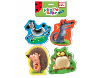 RK6010-01 Baby Puzzle Animale Roter Kafer