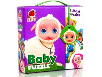 RK1210-01 Baby Puzzle Maxi Ferma Roter Kafer