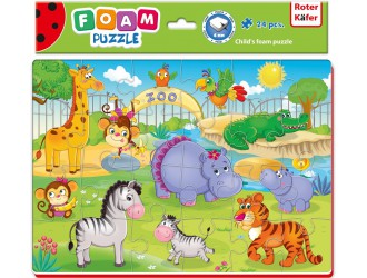 RK1201-06 Puzzle moi A4 Imagini vesele Zoo Roter Kafer