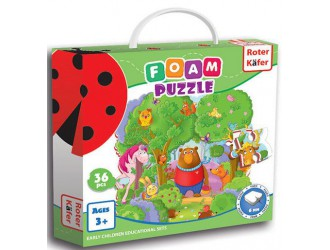 RK1202-01 Puzzle moi In padure Roter Kafer