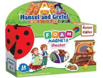 RK2102-03 Set Teatru magnetic Hansel si Gretel Roter Kafer