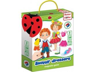 RK3204-04 Joc Magnetic imbraca copiii stilati Roter Kafer Vladi Toys