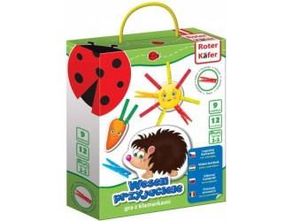 RK6101-06 Joc  educativ cu cleste  Prietenii amuzanti Roter Kafer Vladi Toys