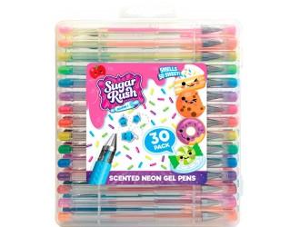 """31040 Set de stilouri aromate cu gel """"Sugar Rush"""" - NEON (30 buc.)"""