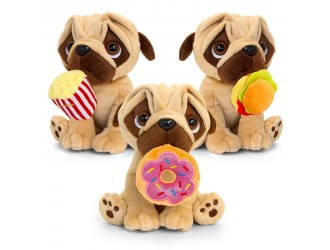 SD2575 Jucarie de plus Mops Pugsley to Go 20cm 3 tipuri