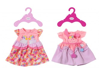 824559 Haine pentru papusa BABY BORN - HOLIDAY DRESS (2 assorted.)