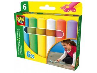 02206S Set de creta - FUNNY PALETTE (6 culori)