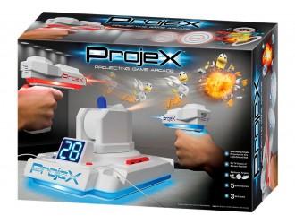 52703 Set de joaca Lupte cu Laser - PROJECTOR LASER X (2 jocuri. Blasters, 3 obiective de diapozitive)