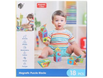 72779 Joc Magnetic Cubes 18 piese