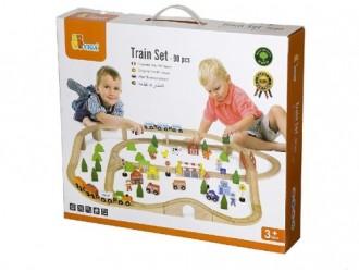 50998 Train Set 90pcs