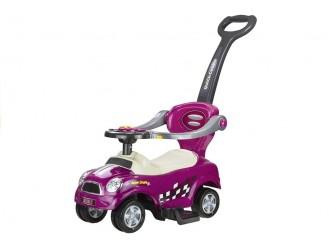 301 Masina Tolocar Coupe cu maner si suport culoare violet (cu sunete)