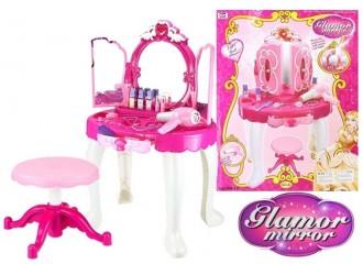 774 Набор для девочек стол для макияжа с аксессуарами