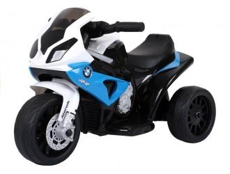 2539 Motocicleta electrica BMW S1000RR culoare albastra cu 1 motor