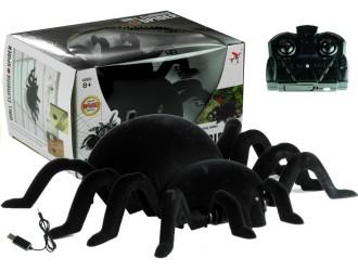 3633 Игрушка черный паук с дистанционным управлением