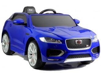4156 Masina electrica Jaguar F-Pace culoare albastru cu 2 motoare