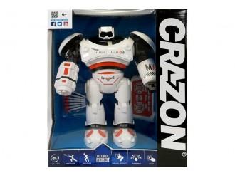 4487 Robot cu RC Crazon cu functie de a impusca cu gloante