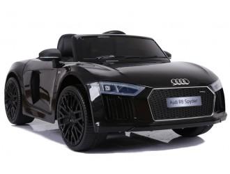 4713 Masina electrica Audi R8 JJ2198 culoare neagra cu 2 motoare