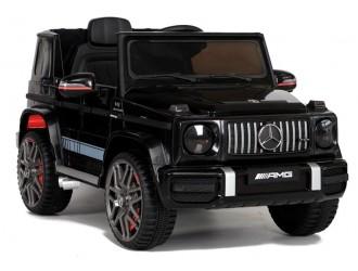 5011 Masina electrica Mercedes G63 BBH-0002 culoare neagra cu 2 motoare