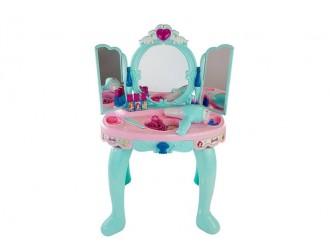5104  Набор для девочек стол для макияжа с аксессуарами