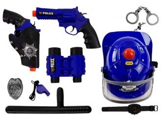 5143 Set accesorii Politie cu sunet si lumini