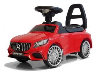 5944 Masina Tolocar Mercedes AMG S65 culoare rosie (sunete si lumini)