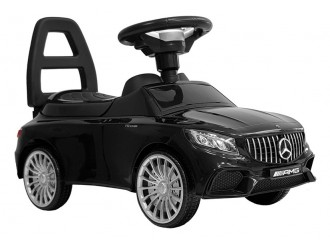 5946 Masina Tolocar Mercedes AMG S65 culoare neagra (sunete si lumini)