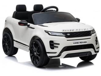 6597 Masina electrica Range Rover Evoque culoare alba cu 2 motoare