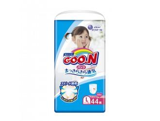 843096 Трусики подгузники Goo.N для девочек 9-14 кг (размер L, 44 шт.)