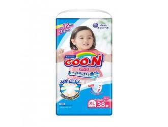 843099 Трусики подгузники Goo.N для девочек 12-20 кг (размер Big XL, 38 шт.)