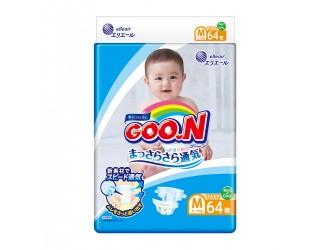 843154 Scutece GOO.N pentru copii 6-11 kg (marimea M, unisex, 64 buc.)