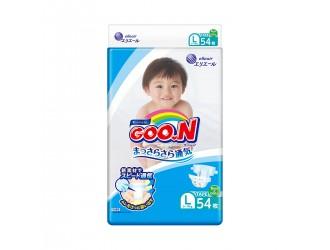 843155 Scutece GOO.N pentru copii 9-14 kg (marimea L, unisex, 54 buc.)