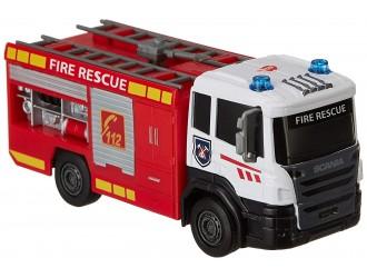 "3712016 Dickie auto ""Scania pompieri"" sun & lum17 cm"
