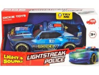 """3763001 Dickie  auto """"Lightstreac Polise """"20 cm"""